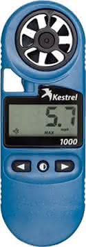 Kestrel 1000 Pocket Wind Meter