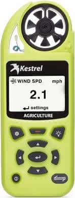 Kestrel 5500AG Agriculture Weather Meter
