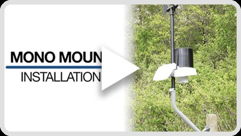 KestrelMet 6000 Mono Mount Installation