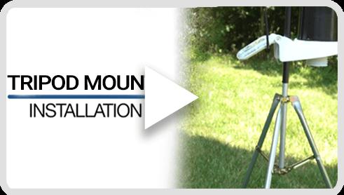 KestrelMet 6000 Tripod Mount Installation